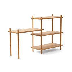 Le Belge System example set 4 levels | Shelving | Vij5