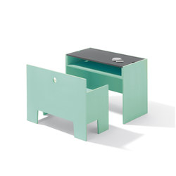 Wonder Box table and bench | Children's area | Richard Lampert