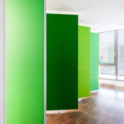 Textile partitions | Partition systems