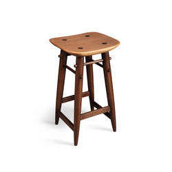 Nine bar stool | Tabourets de bar | LinBrasil