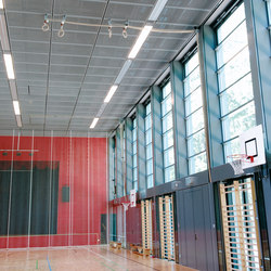 Sportsline V | Illuminated ceiling systems | pinta acoustic