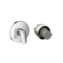 hansgrohe Logis Shower mixer set for concealed installation | Shower controls | Hansgrohe