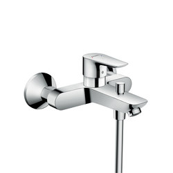 Hansgrohe Talis E Single lever bath mixer for exposed installation | Bidet taps | Hansgrohe