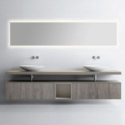 Sintesi 105 | Wall mirrors | Milldue