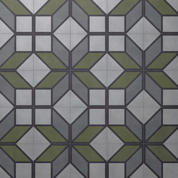Flip Green | Concrete tiles | Bisazza