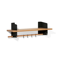 Atelier coat-rack | shelving | 1000 mm | Guardaroba a muro | Richard Lampert