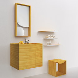 The Nendo Collection | 02 | Bath shelves | Bisazza