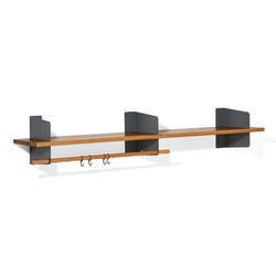 Atelier coat-rack | shelving | 1600 mm | Percheros de pared | Lampert