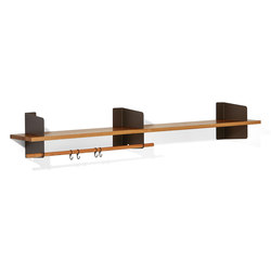 Atelier coat-rack | shelving | 2000 mm | Guardaroba a muro | Lampert