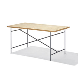 Eiermann 2 dining table | Trestles | Richard Lampert
