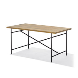 Eiermann 2 dining table | Trestles | Lampert