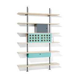 Eiermann shelving | Scaffali | Richard Lampert