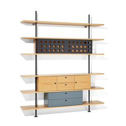 Eiermann shelving | Étagères | Richard Lampert