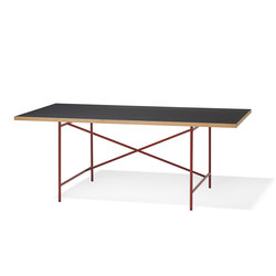 Eiermann 1 oxide red | Individual desks | Richard Lampert