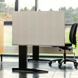 Kurage Table Screen System 50 | Rounded | Dots | Paneles para puestos de trabajo | Kurage