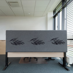 Kurage Table Screen System 50 | Rounded | Rush Power | Table dividers | Kurage