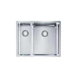 Franke Box Sink BXX 160-34-16/ BXX 260-34-16 Stainless Steel | Fregaderos de cocina | Franke Kitchen Systems