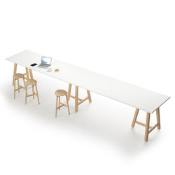 Beech Connect 100 rectangle | Canteen tables | DUM