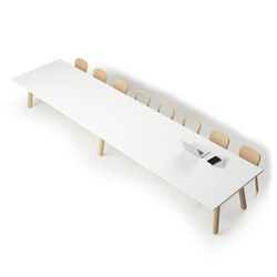 Beech Connect 71 rectangle | Conference tables | DUM