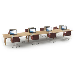 Beech Connect 71 rectangle | Contract tables | DUM