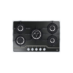 Frames by Franke Hob FHFS 785 4G TC BK C Stainless Steel Glass Black | Hobs | Franke Kitchen Systems