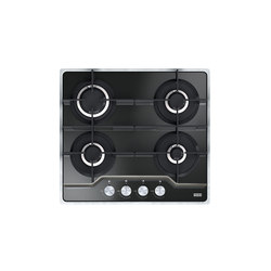 Frames by Franke Hob FHFS 584 4G BK C Stainless Steel Glass Black | Placas de cocina | Franke Kitchen Systems