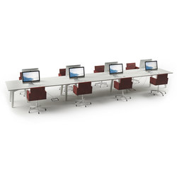 Beech Connect 71 rectangle | Desks | DUM