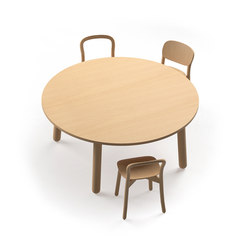 Beech Connect 71 round | Canteen tables | DUM