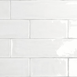 Mayolica Matt White | Ceramic tiles | LIVING CERAMICS