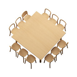 Beech Basic square | Restaurant tables | DUM
