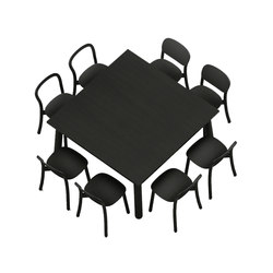 Beech Basic square | Canteen tables | DUM
