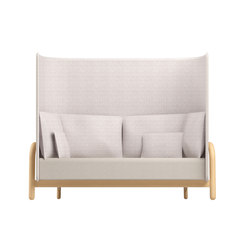 Beech Private Bench high | Privacy furniture | DUM