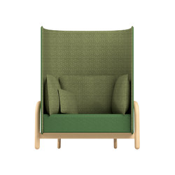 Beech Private Loveseat high | Privacy furniture | DUM