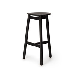 Beech Stool 75 flat | Bar stools | DUM