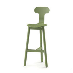 Beech Bar Stool 75 high | Bar stools | DUM