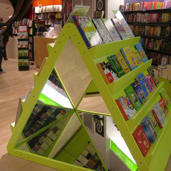 Mirror triangle | Book displays / holder | PLAY+