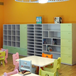 Classroom and atelier modules | Kids storage | PLAY+