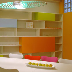 "Office ""in linea"" bookshelf 