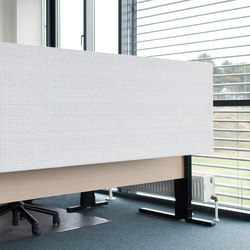 Kurage Table Screen System 50 | Square | Dots | Table dividers | Kurage