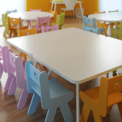 Table rectangular top | Kids tables | PLAY+