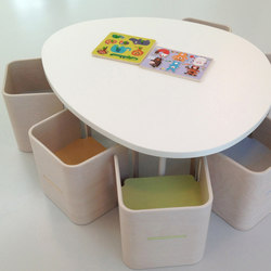 Tavolo stone shape top | Klassenzimmertische | PLAY+