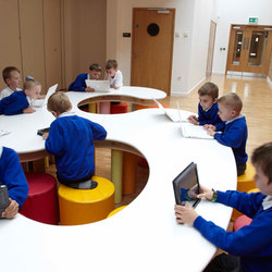 Table s shape top | Classroom desks | PLAY+