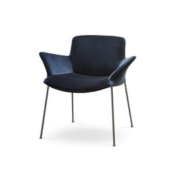 Burgaz Chair | Visitors chairs / Side chairs | Walter Knoll