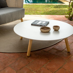 Round Coffee table | Tables basses de jardin | Point
