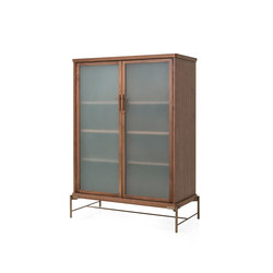 Dowry Cabinet III Frosted Glass | Display cabinets | Stellar Works