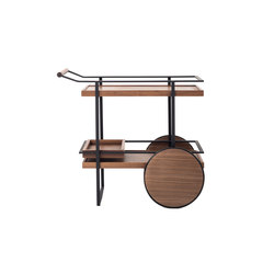 James Bar Cart | Carritos de servicio / Carritos de bar | Stellar Works