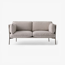 Cloud Two Seater LN2 desert stone | Sofás | &TRADITION