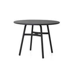 Ming Aluminium Dining Table | Restaurant tables | Stellar Works