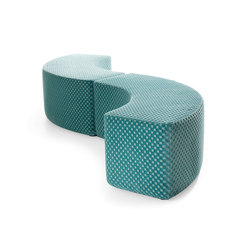 Dots Curve | Modular seating elements | Lande