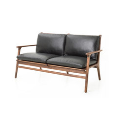 Rén Lounge Chair Two Seater | Sofás lounge | Stellar Works